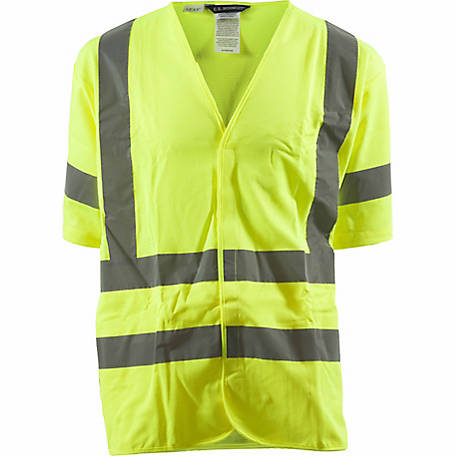 C.E. Schmidt Class 3 Hi-Visibility Short Sleeve Safety Vest