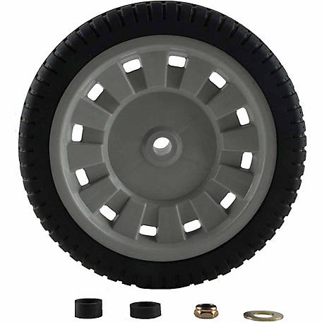 Arnold 8 in. Universal Plastic Wheel with Adapters