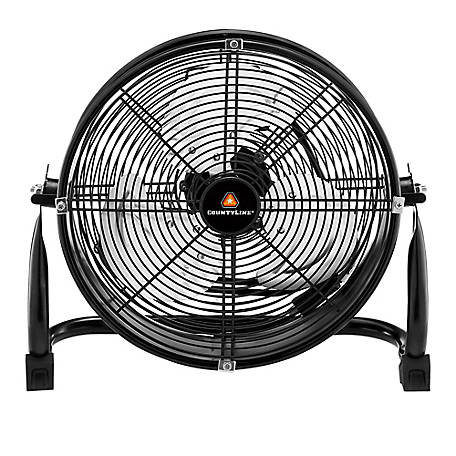 CountyLine 12 In. Portable Drum Fan, SFD-300B