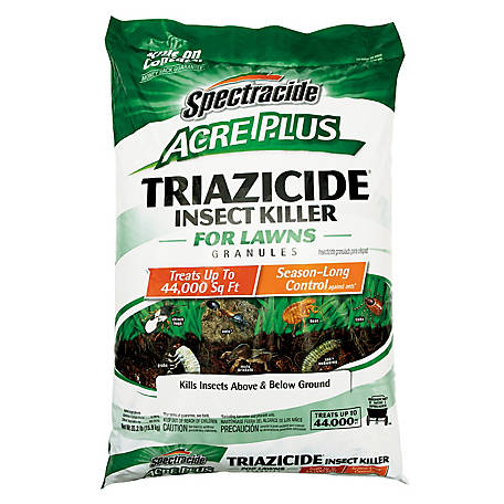 Spectracide Acre Plus Triazicide Insect Killer for Lawns Granules, 35.2 lb., HG-96202