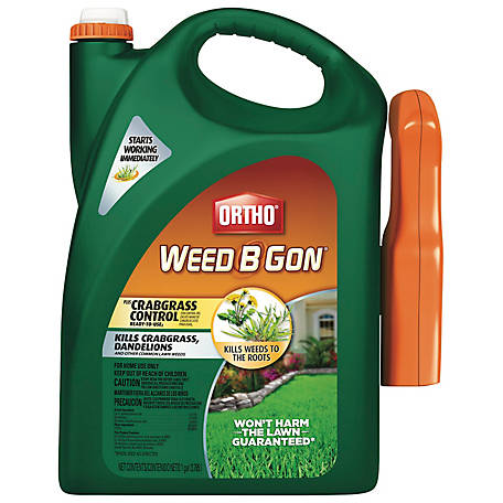 Ortho Weed B Gon MAX Plus Crabgrass Control, Ready To Use Spray, 1 gal.