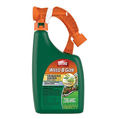 Ortho Weed B Gon Plus Crabgrass Control Ready-To-Spray2, 32 oz., 9994110