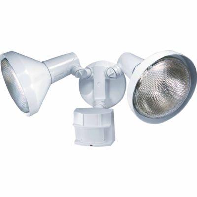 Buy Heath/Zenith 180 deg. Motion Sensing Security Light with Bulb Shields Online