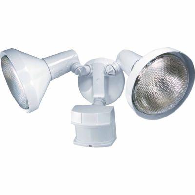 Buy Heath/Zenith 240 deg. Motion Sensing Security Light with Bulb Shields Online