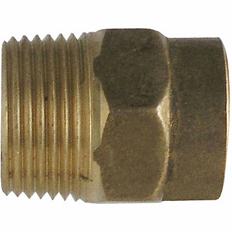 LDR 3/4 in. Sweat Male Adapter, Brass, Lead Free