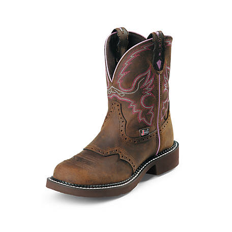 Justin Women's 8 in. Steel Toe Gypsy Collection Western Boot