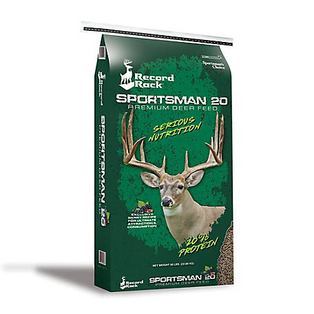 Sportsman's Choice Record Rack Sportsman 20, 50 lb. Bag, 45037