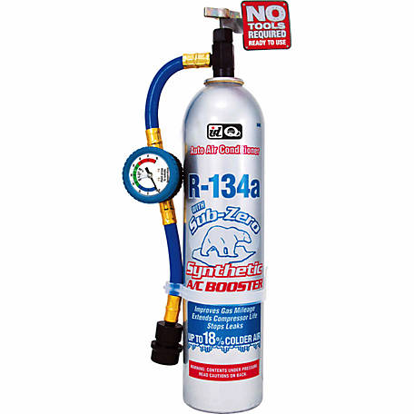 A/C PRO R134a Sub Zero Synthetic A/C Booster, 18 oz.