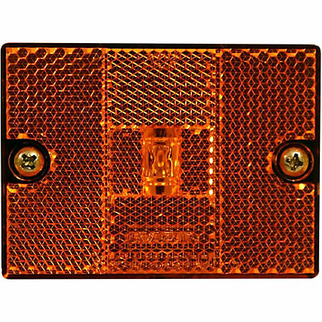 Blazer CW523A 2 3/4 in. Stud Mount Clearance/Side Marker, Amber
