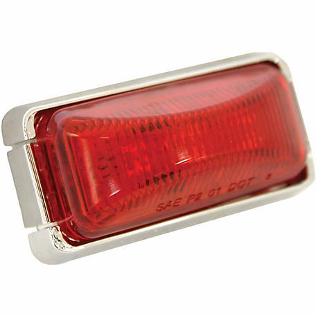 Blazer CW1536R 2 in. Sealed Running Board Light, Red