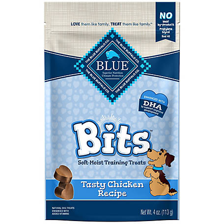 Blue Buffalo BLUE Bits Tasty Chicken Soft-Moist Training Treats, 4 oz.
