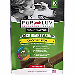 Pur Luv Large Hearty Bones, Brown Rice and Chicken Recipe, 26 oz.