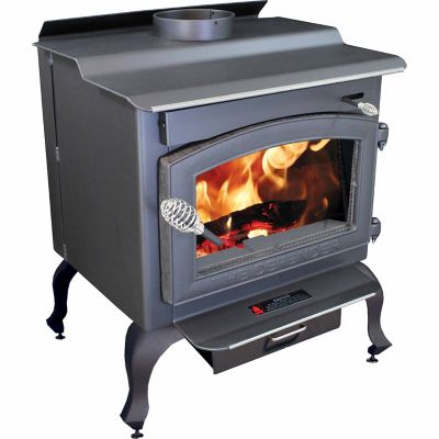 Vogelzang Defender Wood Stove with Blower and Legs, 1,200 Sq. ft. at  Tractor Supply Co. - Vogelzang Defender Wood Stove With Blower And Legs, 1,200 Sq. Ft