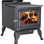 Vogelzang Ponderosa Wood Stove with Blower and Legs, 3,000 Sq. ft. EPA Certified