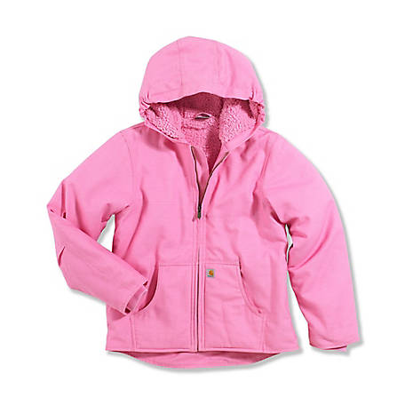 2e59db1cc Carhartt Girls' Redwood Sherpa Lined Jacket