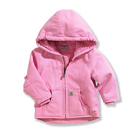 833a92478fb0 Carhartt Girls  Infant Redwood Sherpa Lined Jacket at Tractor Supply ...