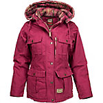 C.E. Schmidt Women's Berry Sanded/Washed Duck Quilted Flannel-Lined Ranch Coat