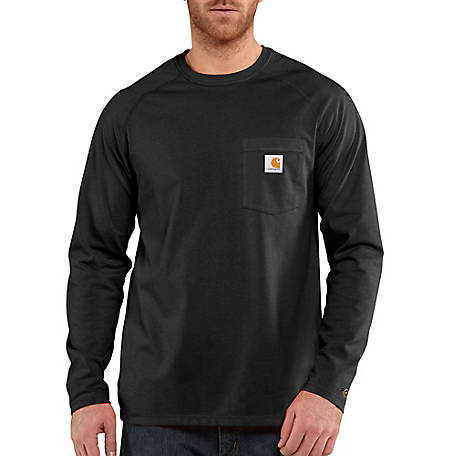 Carhartt Men's Long Sleeve Force Tee, 100393