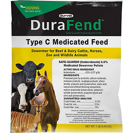Durvet DuraFend Medicated Dewormer, 1 lb  at Tractor Supply Co