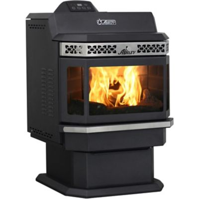 Buy Ashley Pellet Stove; 2;200 sq. ft. with Bay Front and Extended Hopper Online