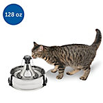 PetSafe Drinkwell 360 Pet Fountain, Stainless Steel