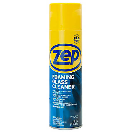 Zep Commercial Foaming Glass Cleaner, 19 oz., ZUFGC194