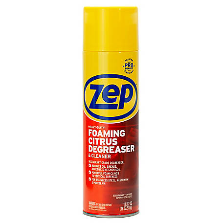 Zep Commercial Heavy-Duty Foaming Degreaser, 18 oz., ZUHFD186 at Tractor  Supply Co.