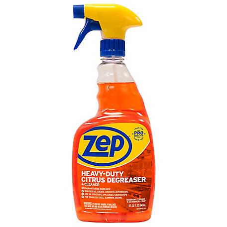 Zep Commercial Heavy-Duty Citrus Degreaser, 32 oz., ZUCIT324
