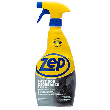 Zep Commercial Fast 505 Industrial Cleaner Degreaser, 32 fl. oz., ZU505324