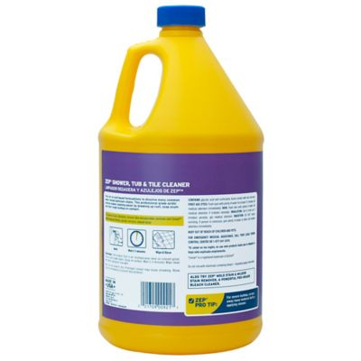 Zep Commercial Shower Tub Tile Cleaner 128 Oz Zustt1282 At Tractor Supply Co