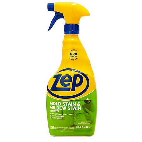 Zep Commercial Mold Stain & Mildew Stain Remover, 32 oz., ZUMILDEW324