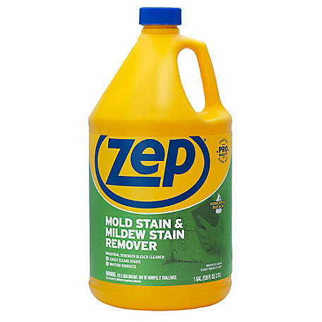 Zep Commercial Mold Stain Mildew Remover 128 Oz