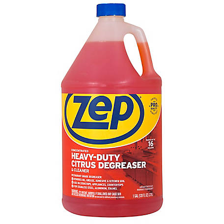 Zep Commercial Citrus Heavy-Duty Duty Degreaser, 128 oz., ZUCIT1282
