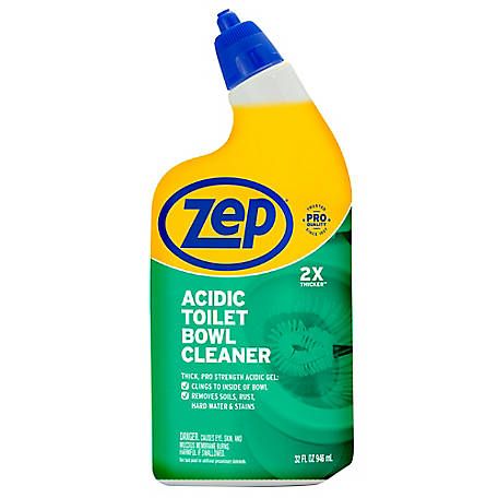Zep Commercial Acidic Toilet Bowl Cleaner 32 Oz