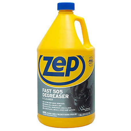 Zep Commercial Fast 505 Degreaser, 128 oz., ZU5051282