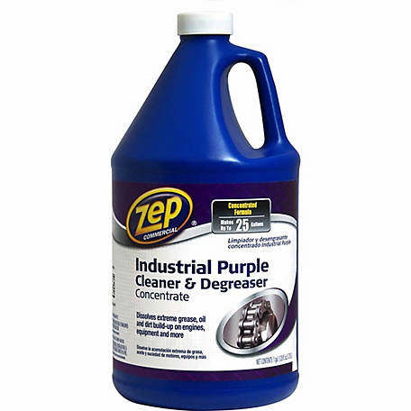Zep Commercial Industrial Purple Cleaner & Degreaser Concentrate, 128 oz., ZU08561282
