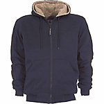 C.E. Schmidt Men's Sherpa-Lined Zip-Front Hooded Sweatshirt