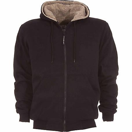 14a4fd52783 C.E. Schmidt Men's Sherpa-Lined Zip-Front Hooded Sweatshirt at ...