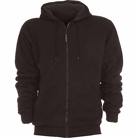 C.E. Schmidt Men's Thermal-Lined Zip-Front Hooded Sweatshirt