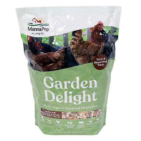 Manna Pro Garden Delight Poultry Treat, 1000201