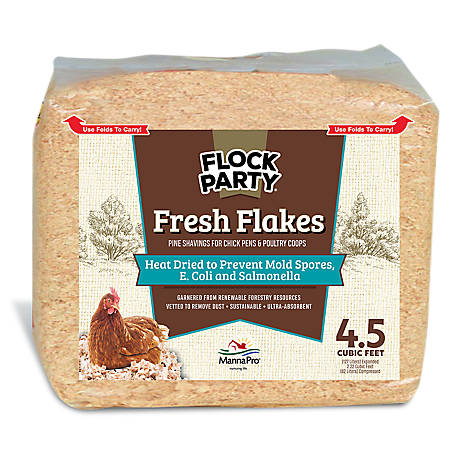 Manna Pro Fresh Flakes Poultry Bedding, 1030433