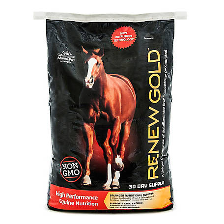 Manna Pro Renew Gold High Performance Equine Nutrition, 30 lb.