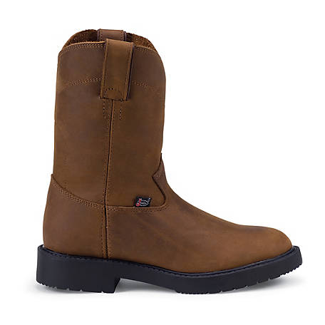 Justin Kid's Juniors Work Boot