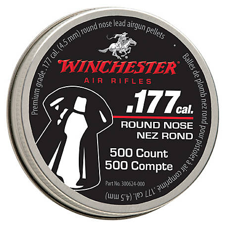 Winchester .177 Cal. Dome Pellets