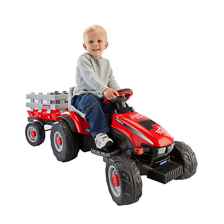 Peg Perego Case IH Lil' Tractor & Trailer