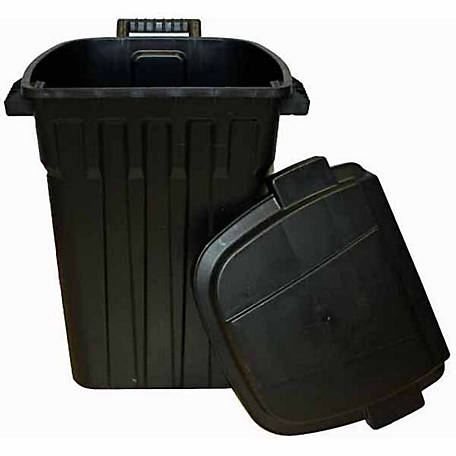 Incredible Solutions TrashPan Trash Can with Wheels, 35 gal. Capacity