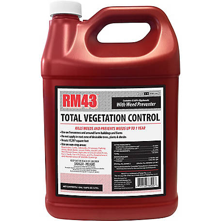 Rm43 Total Vegetation Control Weed Preventer Concentrate 4368