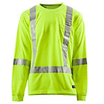 C.E. Schmidt Class 3 Hi-Visibility Long Sleeve Pocket T-Shirt