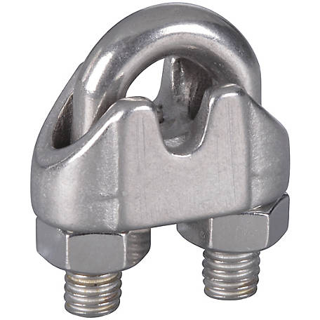 National Hardware 3/16 in. Wire Cable Clamps Stainless Steel, N830-313