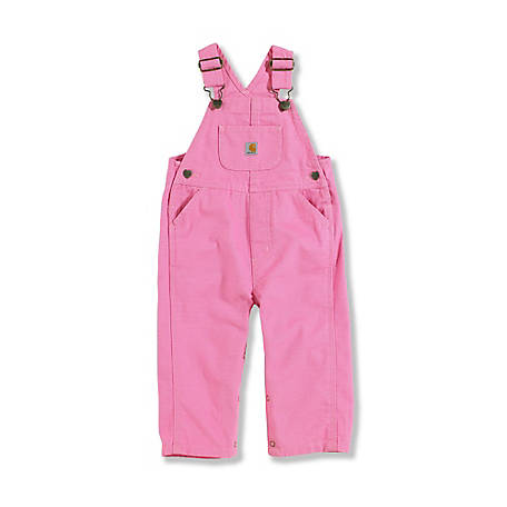 Carhartt Infant Girls Bib Overalls At Tractor Supply Co